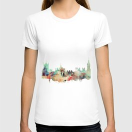 London Watercolor Skyline T-shirt