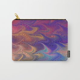 MARBLING-PATTERN-1 Carry-All Pouch