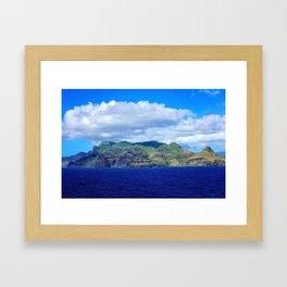 Kauai's Bright Welcome Framed Art Print