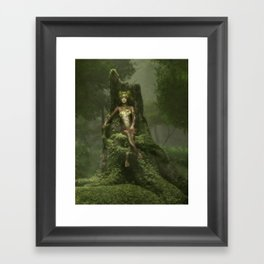 The Heart of the Forest Framed Art Print