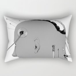 Cybernetic Coma Rectangular Pillow