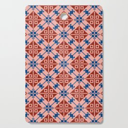 Folk Pattern Cutting Board
