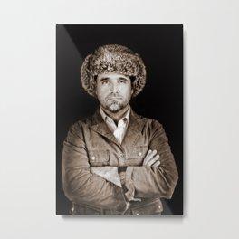 Dave The Mongol Metal Print