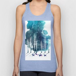 Winter Night 2 Unisex Tank Top