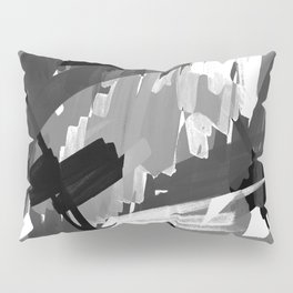 Into the Grey Pillow Sham