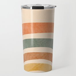 Retro Rainbow Travel Mug