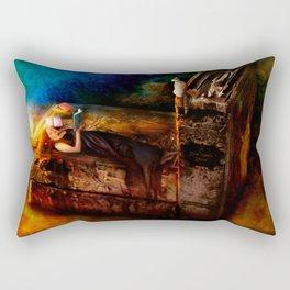 Ex Libris - A Book Lover's Dream Rectangular Pillow