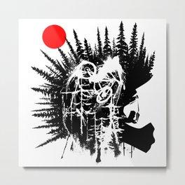 Punk Rider Metal Print