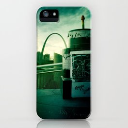 City with a view iPhone Case