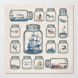 Vintage Preservation Canvas Print