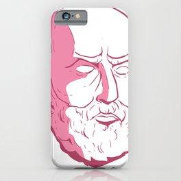 Epictetus philosopher statue iPhone Case
