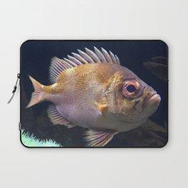 grumpy fish Laptop Sleeve