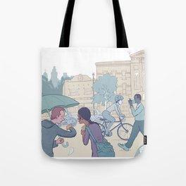 Street Time Tote Bag