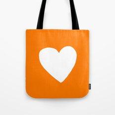 Autumn Heart Tote Bag