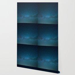 Navy Blue Star Galaxy Wallpaper