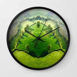 Top Of The Hill Wall Clock