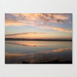 Tillamook Bay, Oregon Sunset Canvas Print