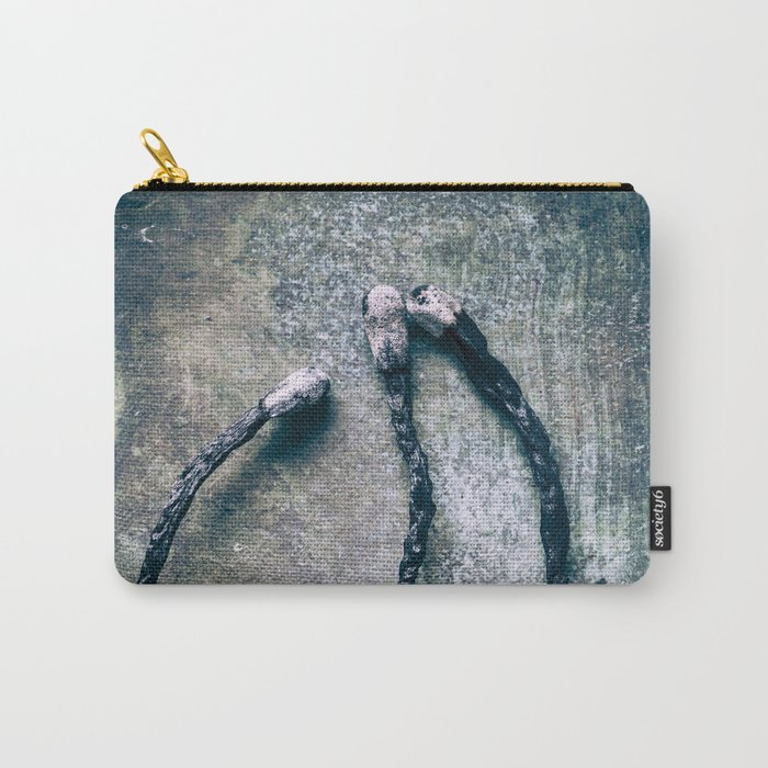 Burnt Matches ( Don´t Play With Fire ) Carry-All Pouch