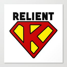 Relient K Superman Canvas Print