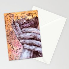 He Tore the wiring in my brain, and quietly rearranged Stationery Cards