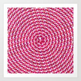 Heart Swirl Art Print