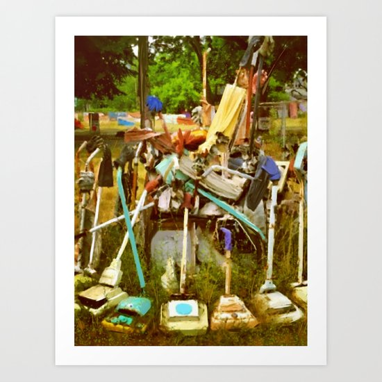 Detroit Heidelberg Project Vacuums Art Print