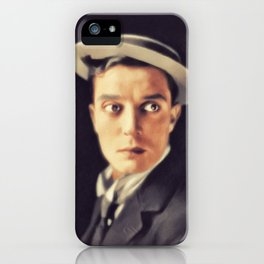 Buster Keaton, Vintage Actor iPhone Case