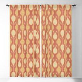 Retro-Delight - Double Drops - Citrus Blackout Curtain