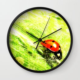 Coccinelle - version light Wall Clock
