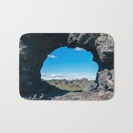Dimmuborgir Lava Field - Iceland Bath Mat
