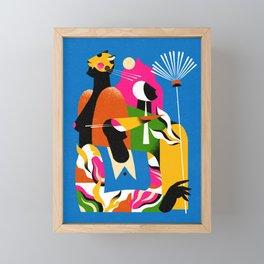 Godê Pavão Framed Mini Art Print