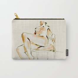nude woman 2 Carry-All Pouch
