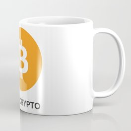Bitcoin  - I GO CRYPTO Coffee Mug