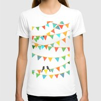 flag T-shirts featuring Carnival is coming to town by Picomodi