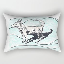 Nora dog Rectangular Pillow