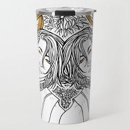 [Caelum Florescens] Gemini Travel Mug