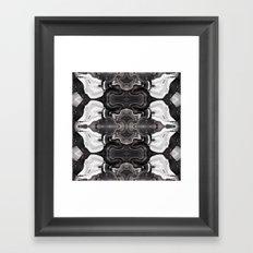 Agate Knocked Down Framed Art Print