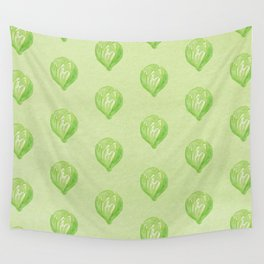 Brussels Sprouts Wall Tapestry