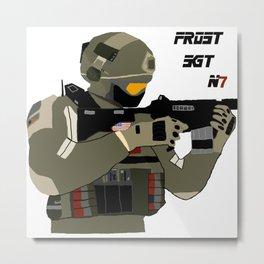 FROST SGT Metal Print