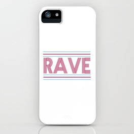 rave prism logo iPhone Case