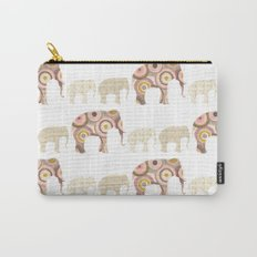 Menagerie Elephants Carry-All Pouch