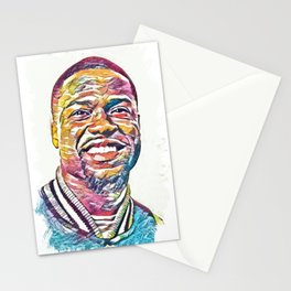 Kevin Hart Abstract Portrait Stationery Cards