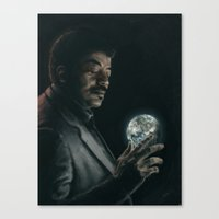 cosmos Canvas Prints featuring Cosmos by mycolour