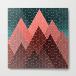 Blood Mountain Metal Print