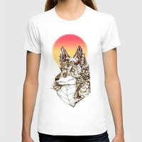 kitsune T-shirts featuring Kitsune by South Spire Seven