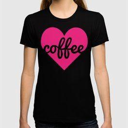 Coffee Heart T-shirt
