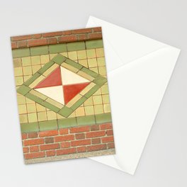 Ithaca's old train station Stationery Cards