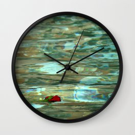Love Gone Wrong Wall Clock