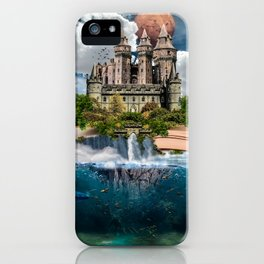 Book Castle iPhone Case