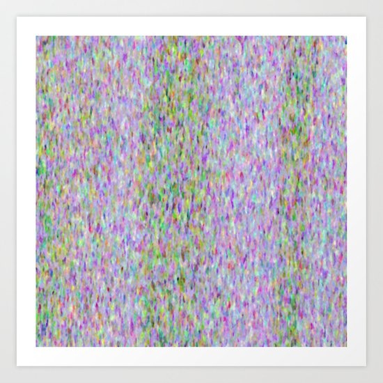 Lilac Showers Art Print